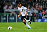 Sami Khedira, qualifier for the UEFA European Football Championship 2012, Germany - Azerbaijan 6:1, RheinEnergieStadion stadium, Cologne, North Rhine-...