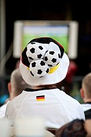German fan at the Soccer World Cup