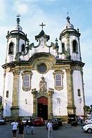Brazil, Minas Gerais, Sao Joao del Rei, Nossa Senhora do Carmo church,