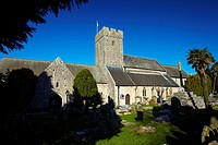 St Illtud's Church, Llantwit Major, Glamorgan, South Wales, UK