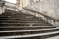 Croatia, Dubrovnik old town  Jesuit steps
