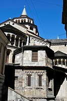 italy, Bergamo, S M Maggiore,