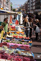 Albert Cuyp market, Amsterdam, Holland, Netherlands, Europe