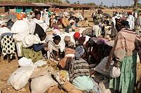 Market, Dorze, southern Ethiopia, Africa