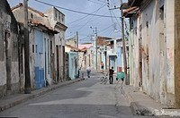 Historic district of Camagueey, Cuba, Caribbean, Central America