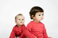 Babies portrait.