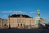 Amalienborg royal palace, Copenhagen, Denmark, Europe