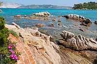 Beach Salinedda San Teodoro Sardinia Italy