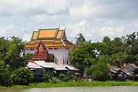 Temple near Udong  Tonle Sap River  Cambodia