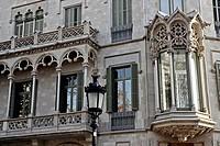 Casa Marfà, modernism, 1901-1905, arq Manuel Comas i Thos, Barcelona, Catalonia, Spain