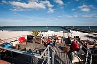 Beach promenade, Scharbeutz, Schleswig_Holstein, Germany