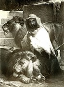 Daniel in the Lions' Den  From an edition of John Browns Self Interpreting Bible first published in 1778