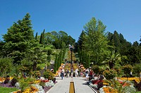 Mainau flowering island, Lake Constance, Baden_Wuerttemberg, Germany, Europe