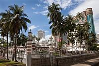 Masjid Jamek Mosque, Kuala Lumpur, Malaysia, Asia