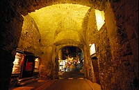 Town gateLa Porte Genoise, Porto Vecchio, Corsica, France