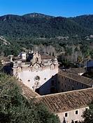 Lluch Monastry, Serra de Tramuntana, Majorca, Spain