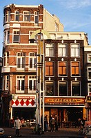 Netherlands, Amsterdam, street scene, café.