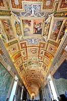 Corridors of the Vatican Museums