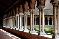 Cloister of the Church of the Jacobins, Toulouse, France