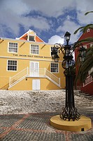 Caribbean, Netherlands Antilles, Curacao, Willemstad, Otrabanda, The Jacob Gelt Dekker Institute, architecture