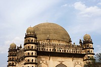 Gol Gumbaz , dome second largest one in world which unsupported by any pillars , Bijapur , Karnataka , India