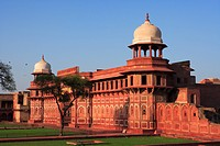 Agra fort built in 16th Century by Mughal emperor , Agra , Uttar Pradesh , India UNESCO World Heritage Site