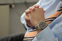 Businessman, manager, office worker, detail