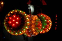 Lamps and lighting for sale on time of Indian festival Diwali deepawali