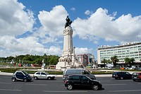 Marques do Pombal Roundabout in Lisbon, Portugal  This roundabout rates the highest number of car accidents in roundabouts in Portugal