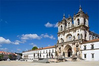 Alcoba&#231;a Monastery, a masterpiece of the Gothic architecture  Cistercian Religious Order  Unesco World Heritage  Portugal
