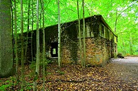 The Wolf´s Lair, Hitler´s military headquarters during the Second World War. Ketryzn, Poland