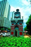 Municipal Clock, Manaus, Amazonas, Brazil
