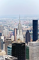 Chrysler Building, Empire State Building, DownTown, New York, USA