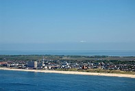 Aerial view, Westerland, Sylt island, North Friesland, Schleswig-Holstein, Germany, Europe