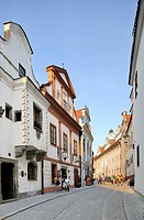 Historic old town, UNESCO World Heritage Site, Cesky Krumlov, Czech Republic, Europe