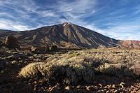 Teide with Roques de Garcia, Tenerife, Spain, Europe