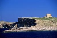 Comino island, Malta, Mediterranean Sea.