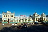 Russia, Siberia, Irkutsk, Railway station, Trans-siberian