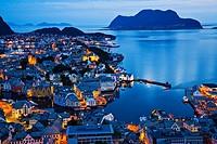 Alesund More og Romsdal, Norwegian fjords, Norway.
