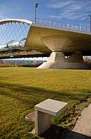 Tercer Milenio Bridge, Zaragoza, Spain