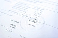 Data cd and bank statement