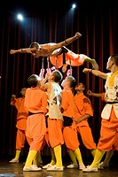Shaolin Kung Fu, Shi Fu _ The Master Gala II, auditorium of Fachhochschule Dieburg, Hesse, Germany, Europe