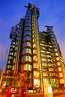 Lloyds building, Financial district, London, UK