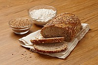 Fresh whole_grain bread