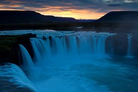 Godafoss waterfall, Iceland (thumbnail)