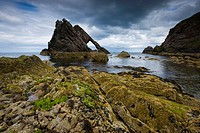 Bow Fiddle Rock, Portknockie, Scotland (thumbnail)