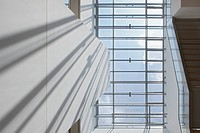 View of an office skylight