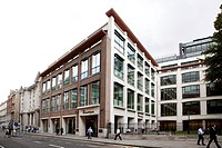 Headquarters of the investment bank and financial service company Merrill Lynch in London, England, United Kingdom, Europe