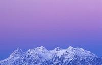 Reiter alp at dawn, Berchtesgaden Alps, Bavaria, Germany, Europe