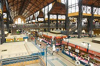 Great Market Hall, Budapest, Hungary, Europe
